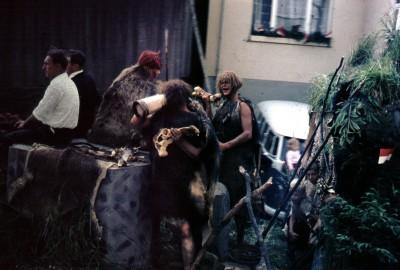 Die wilden Männer aus dem Benhardswald (Darstellung an der 800 Jahrfeier in 1967)