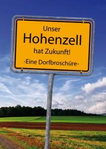 Cover der Dorfbroschüre