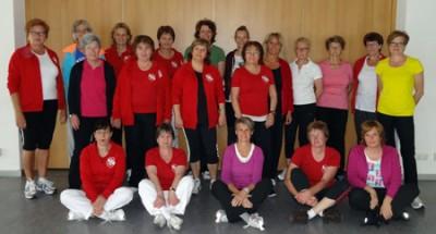 Damengymnastikgruppe 2014
