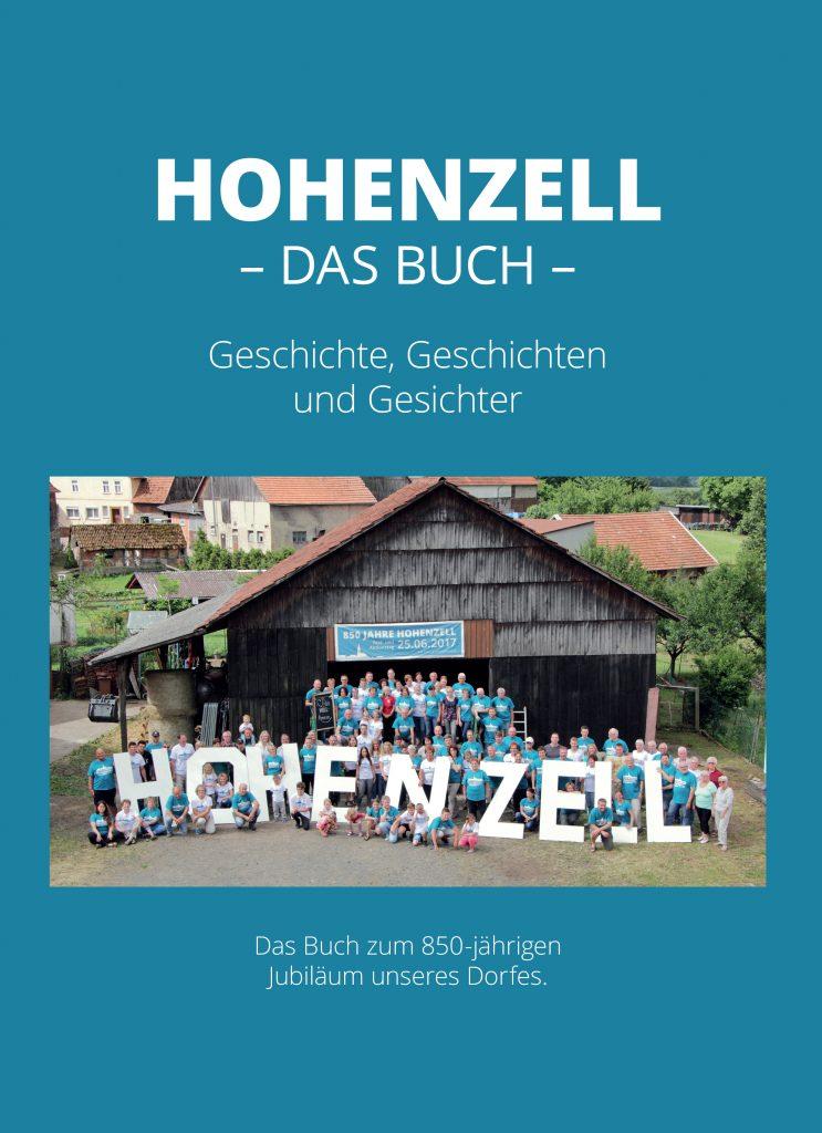 Hohenzell – Das Buch, Cover